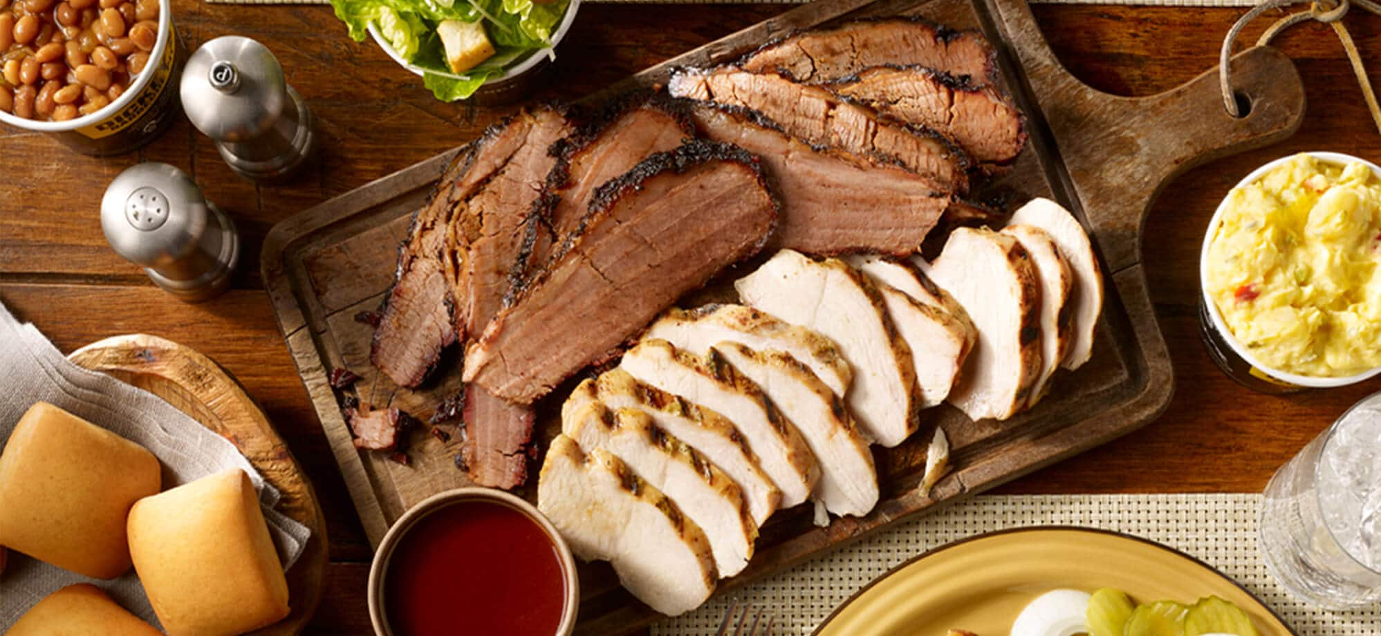 Barbecue at Dickey's Barbecue Pit