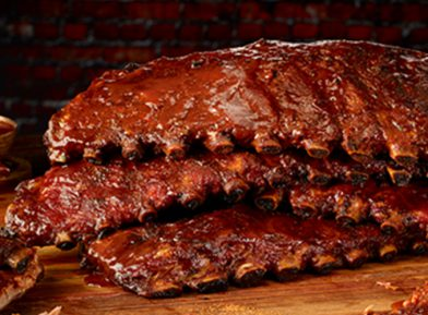 Glazed Ribs at Dickey's Barbecue Pit