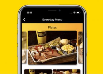 Dickey's Barbecue Pit Mobile Menu