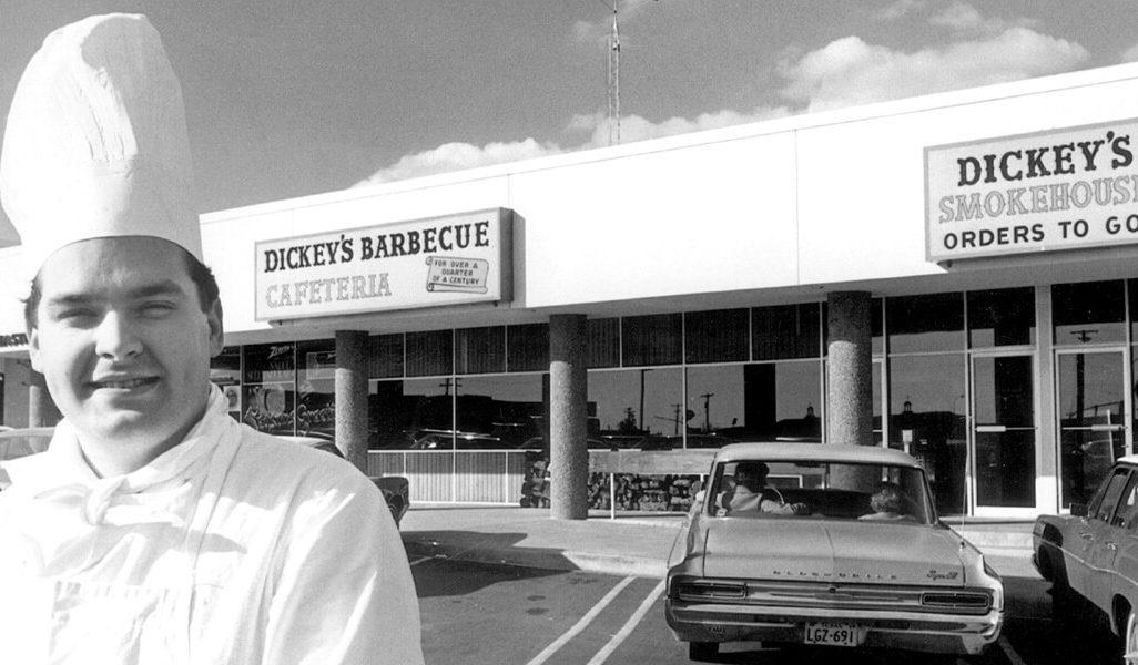 Vintage Dickey's Barbecue Cafeteria