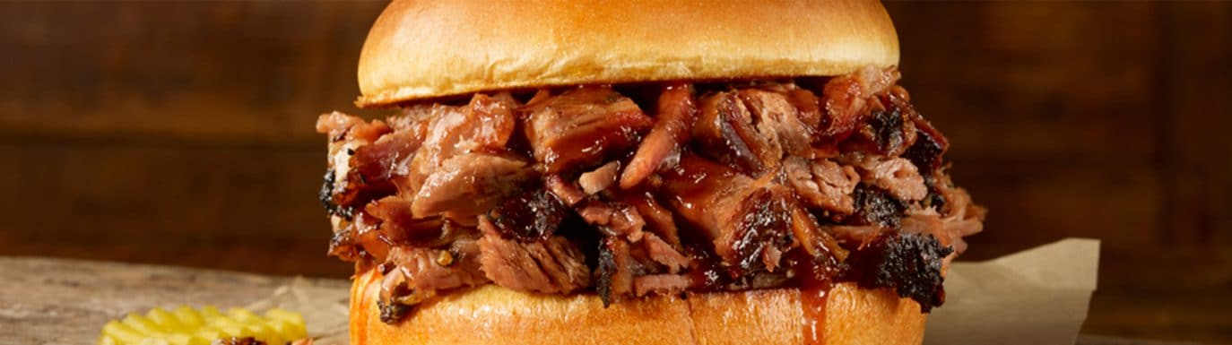 Pulled Pork Sandwich at Dickey's Barbecue Pit
