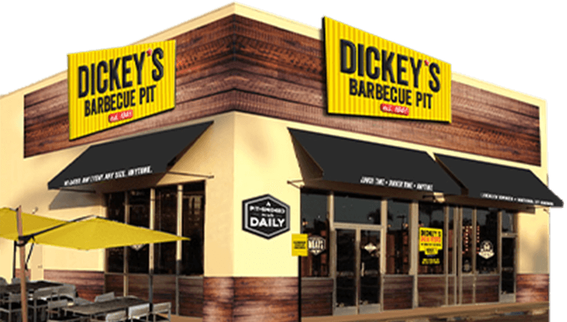 Dickey's Barbecue Pit Exterior