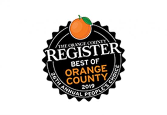 The Orange County Register, Best of Orange County 2019