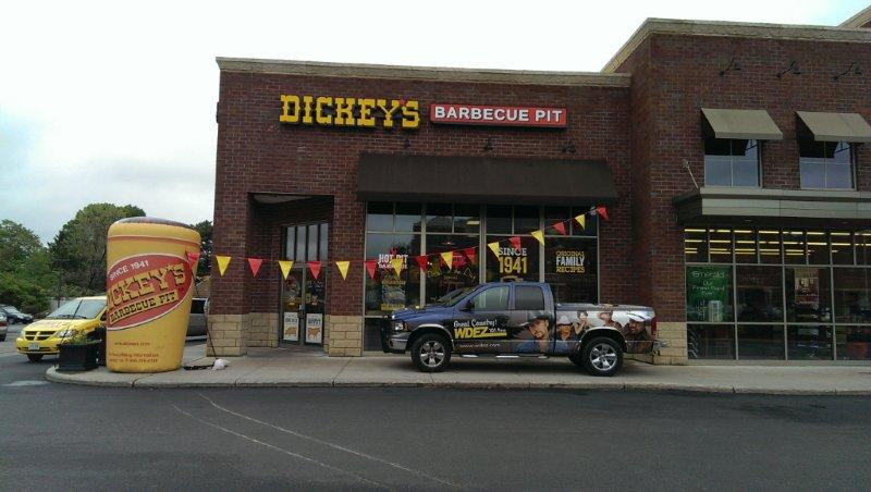 There's a Party at Dickey's Barbecue in North Central Wisconsin