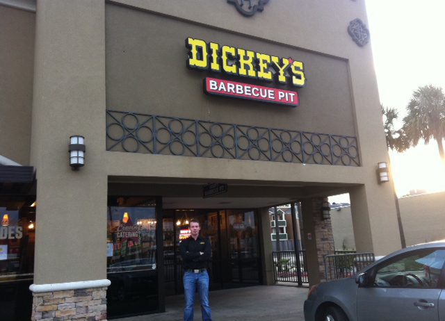 Dickey's Wins Over the Hearts of Houston