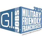 2012 Military Friendly Franchise Awards