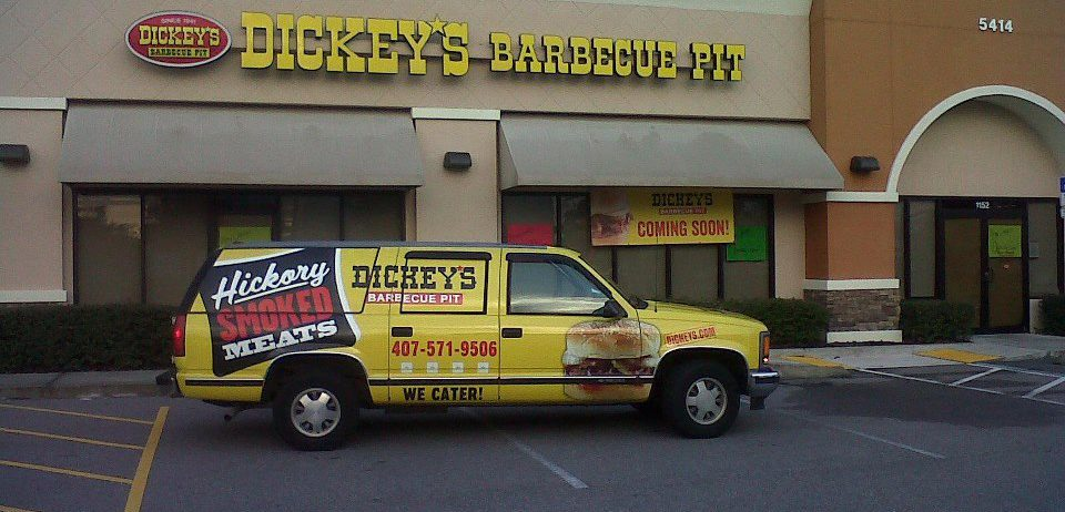 Welcome Back Dickey's Barbecue