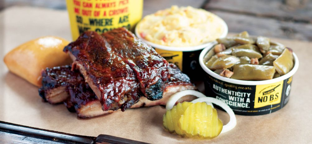 Mr. Dickey Stops by Dickey's Barbecue Pit in Athens for Guest Appreciation Event