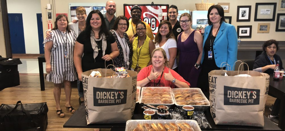 Dickey's Delivers Thousands of Sandwiches to Teachers Across the Nation