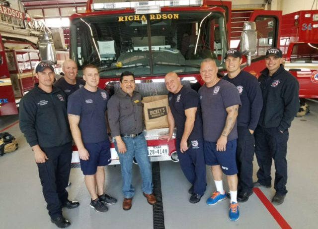 Give Back at Dickey's Barbecue Pit