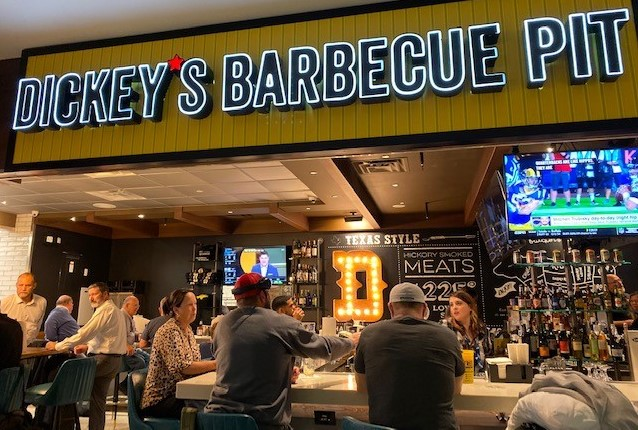 Dickey's Barbecue Pit Lands at DFW Airport with a Full Bar