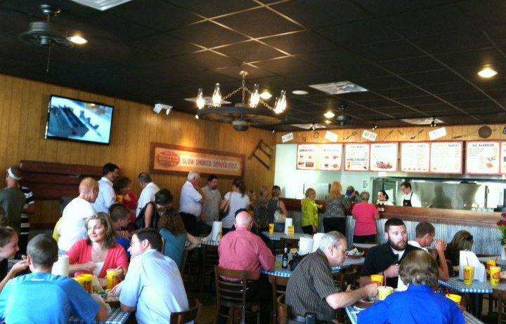 Community Herds to Dickey's Barbecue in Tomball