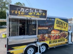 Dickeys food trailer