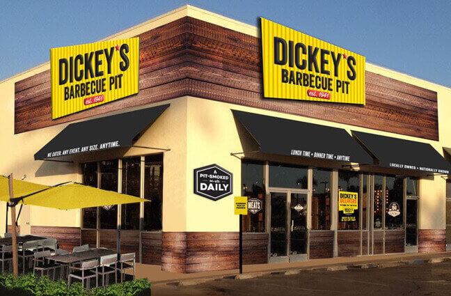 Exterior Image of Dickey's Franchise
