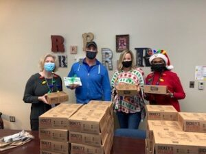Shane Ables delivery for Robertson Elementary